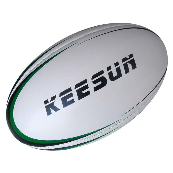 Machine Stitched with 4panels PVC Rugby Ball (RM9003)