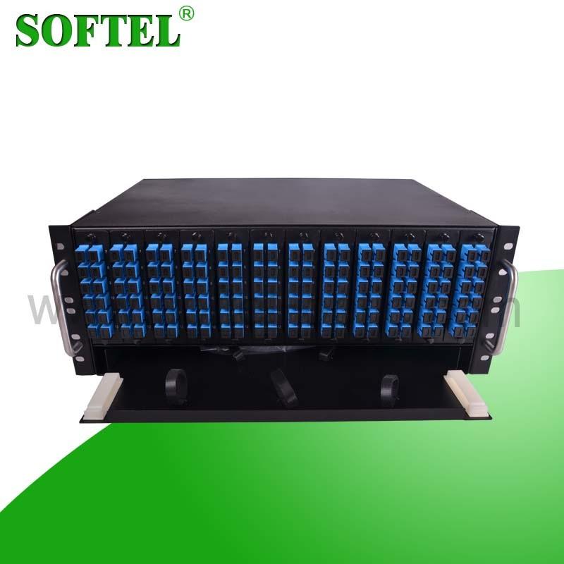 144 Core 4u Rack-Mount Fiber Optic Distribution Frame ODF