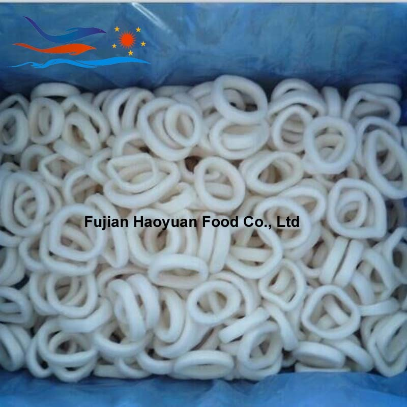 Manufacturing Frozen Seafood Squid Ring
