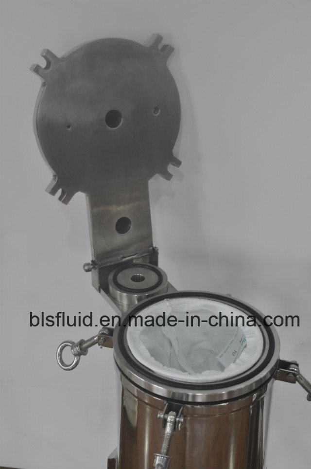 Bag Filter Housing, Sanitary Stainless Steel Liquid Bag Filter