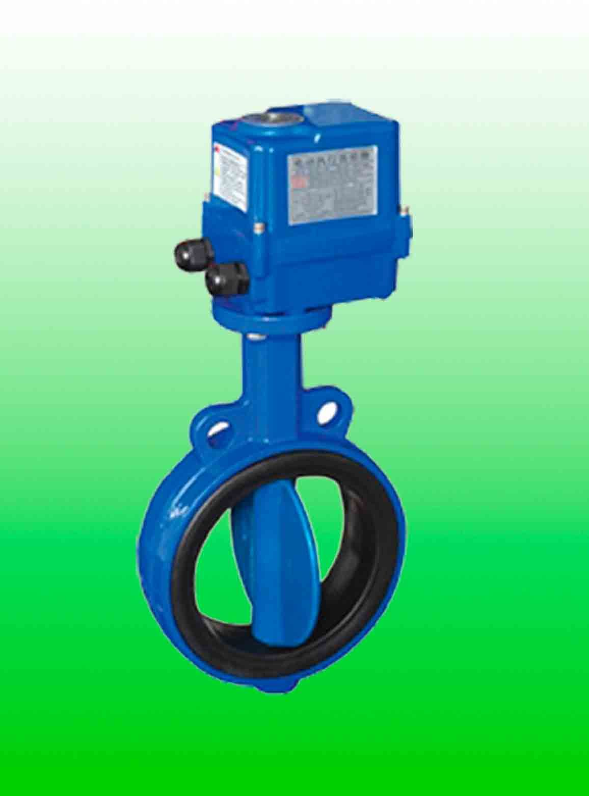 China Electric Butterfly Valve 220vac China Miniature