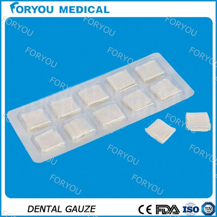 Premium Dental Hemostatic Gauze with CMC Material