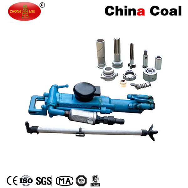 Yt28 Rock Drill Pneumatic Hand Rock Leg Drilling Machine