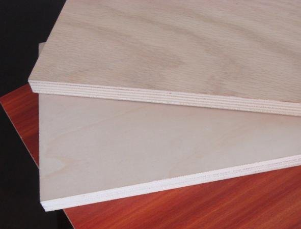 China melamine faced plywood okoume