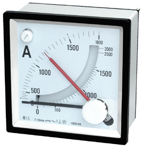 96/72/48 Moving Iron Instruments AC Ammeter