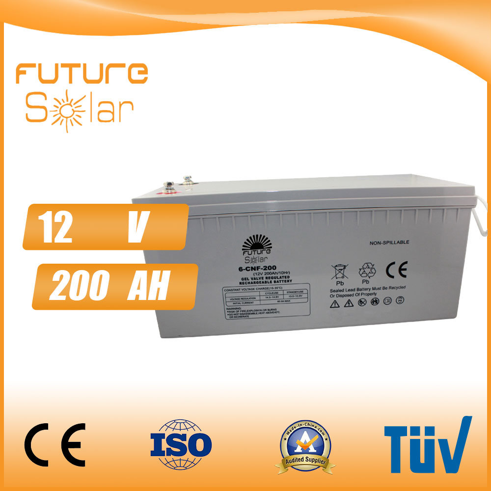 Futuresolar 12V 200ah Solar Battery 100kw Battery Storage