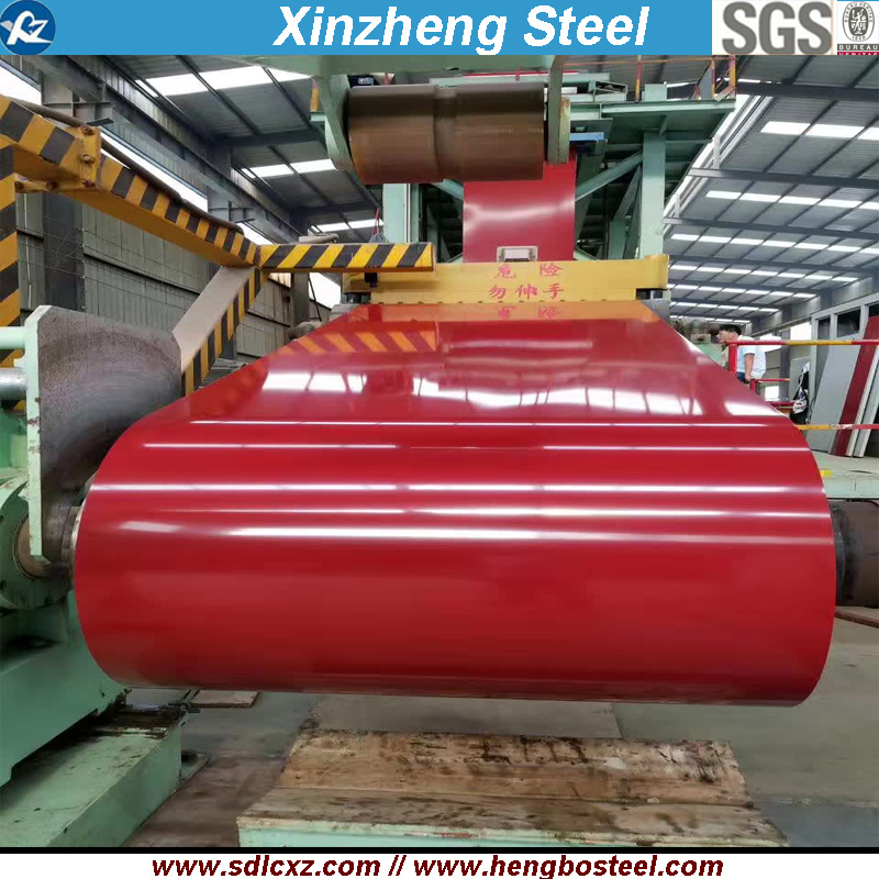 Building Material PPGI Prepainted Color Coated Galvanized Steel Coil