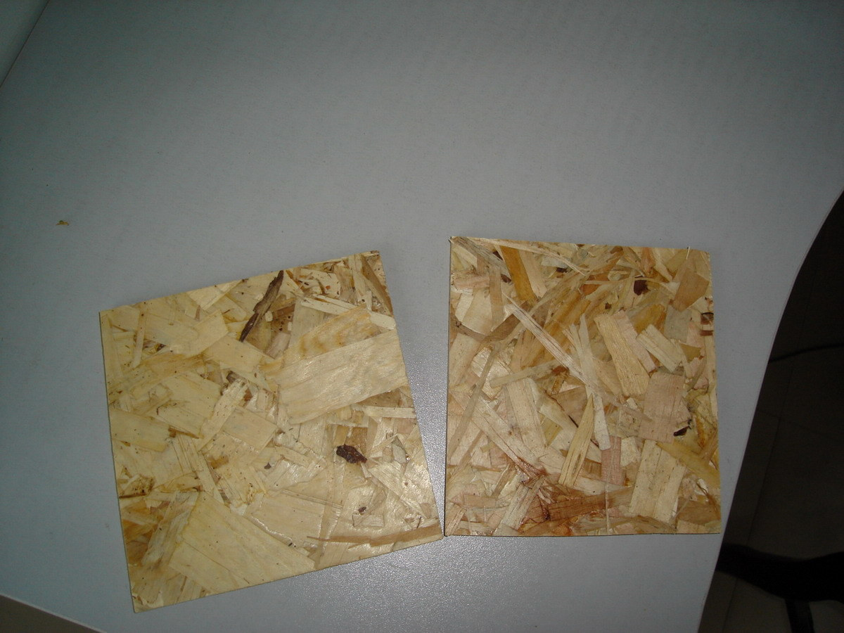 China osb oriented strand board particle