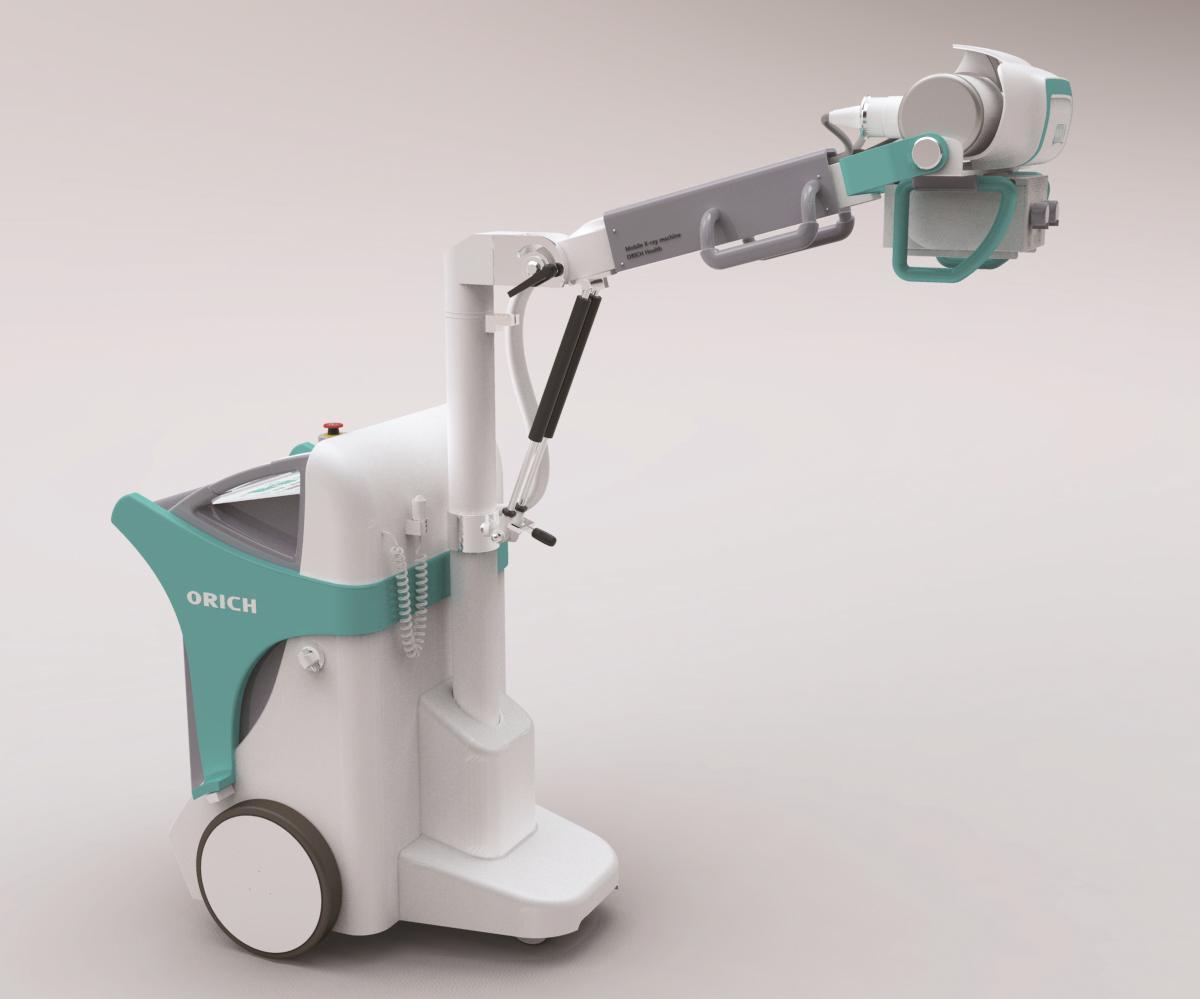 Digital Portable X Ray Machine