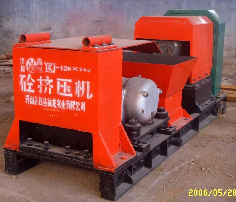 Concrete Extrusion Machine : China prestressed concrete hole plate extrusion molding