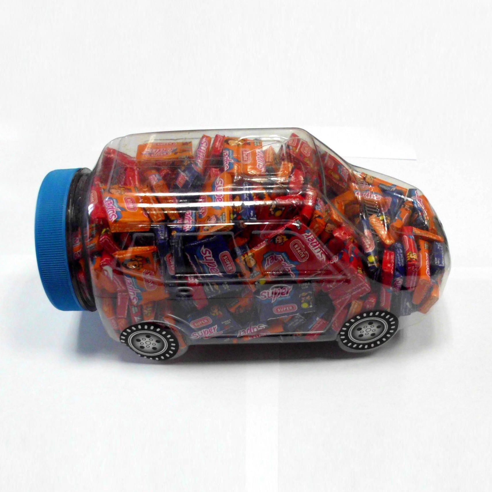 Car Jar Packing 3cm Bubble Gum