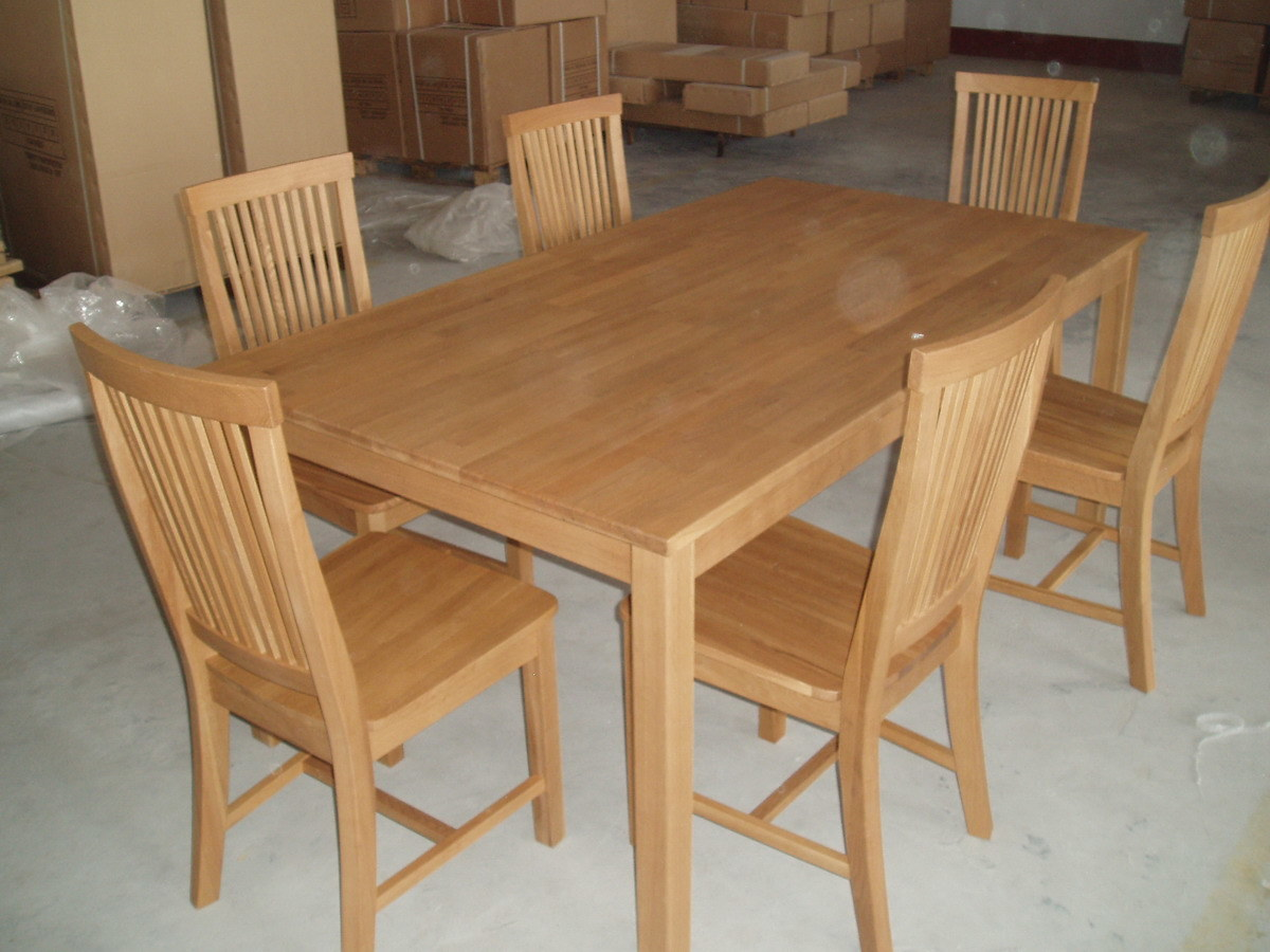 china dining table 6 chairs tc8101 china oak chair