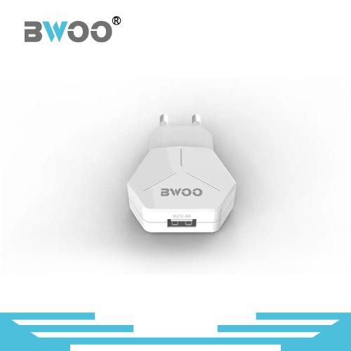 Fashion Design 5V 2.4A EU Plug USB Wall Charger