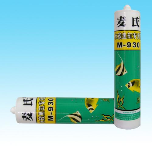 China acetoxy aquarium silicone sealant m 930 china for Aquarium decoration sealant