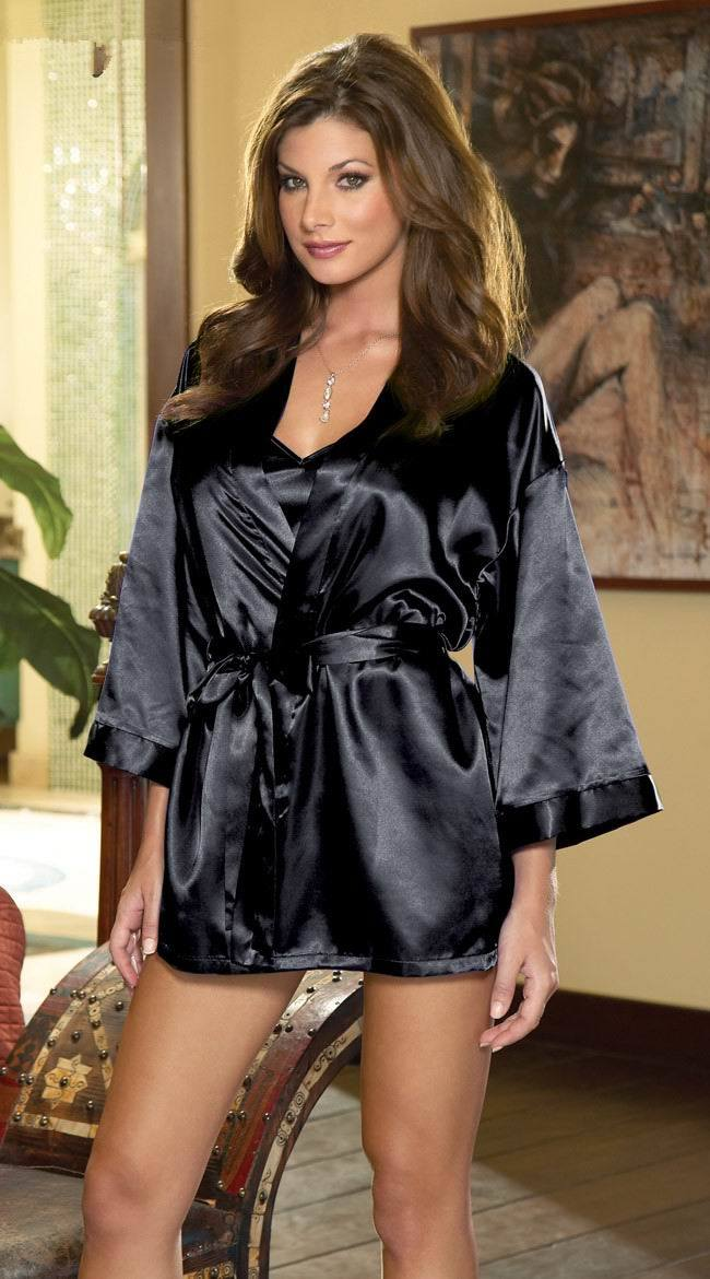 Baby Doll and Matching Robe Lingerie