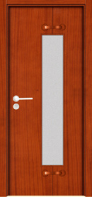 Solid Wooden Door / Wooden Door / Glass Door (YFM-8055)