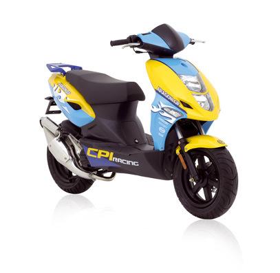cpi 2 stroke scooter