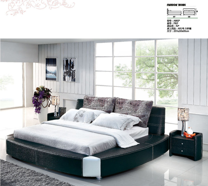 China Bedroom Furniture Living Room Furniture Beds A882 China Soft Bed