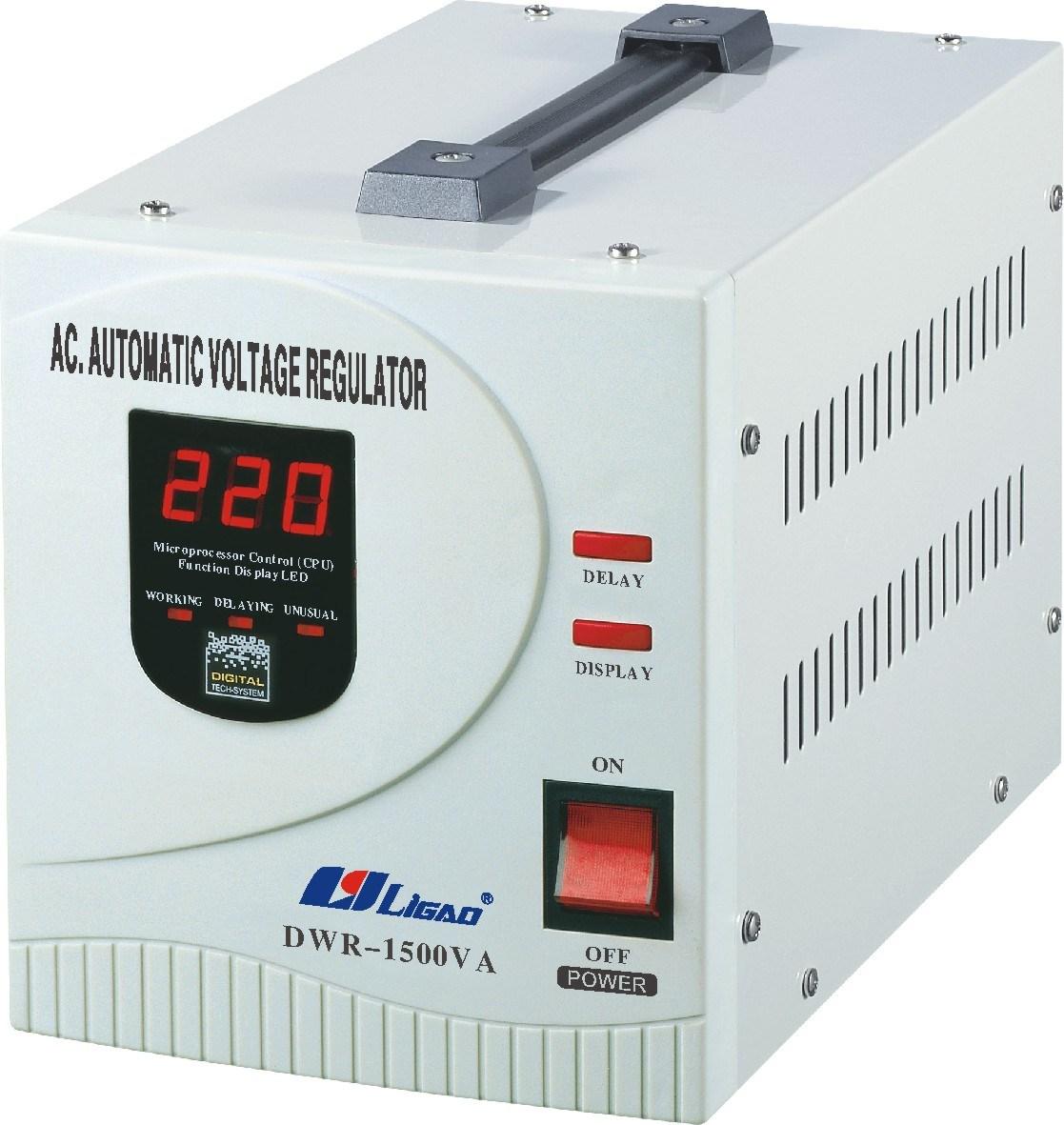 China Automatic Voltage Regulator Dwr 1500va China