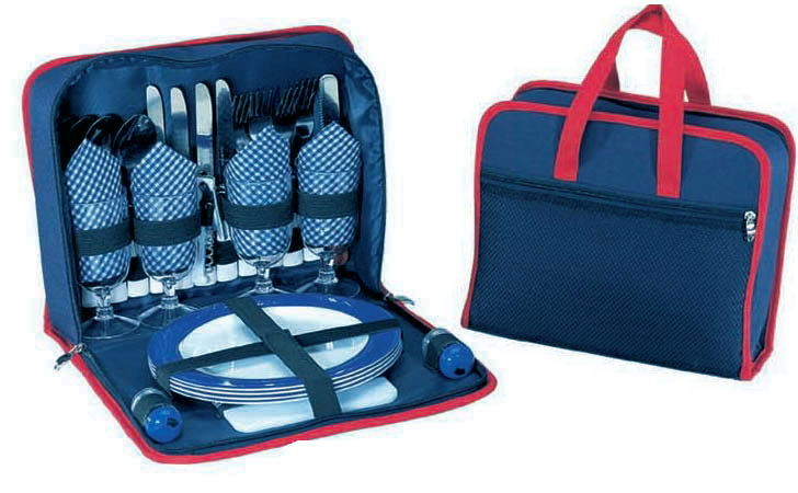 4 Person/Insulated Thermal/Tote/Cool/Lunch/ Picnic Bag (MS3093)