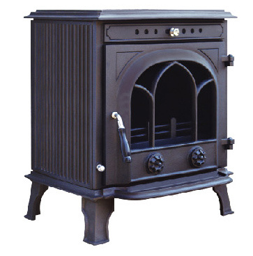 Solid Fuel Wood Burning Stoves, Cast Iron Stove (FIPA 034)