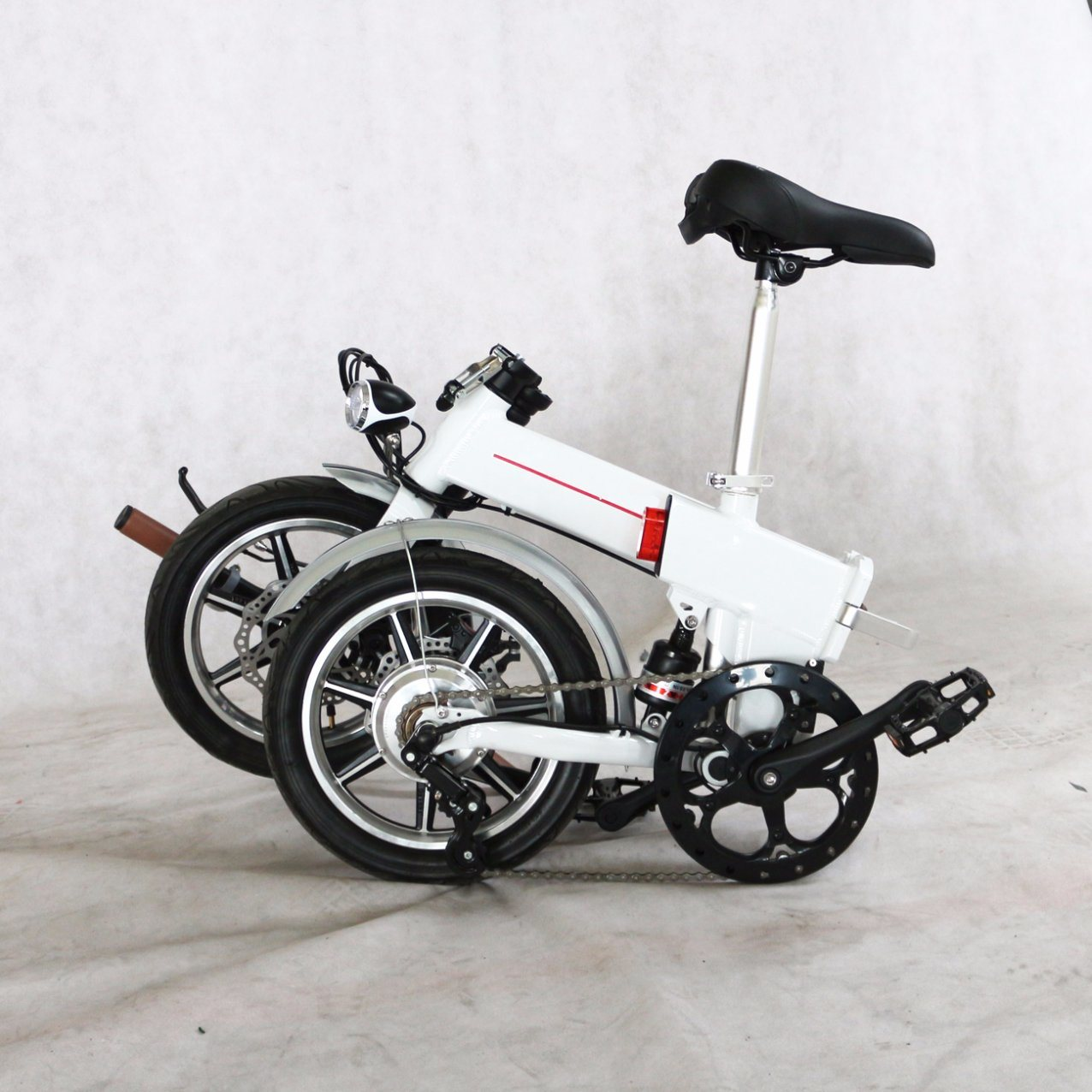 2017 New 36V Lithium Battery Folded Electric Bike 1401