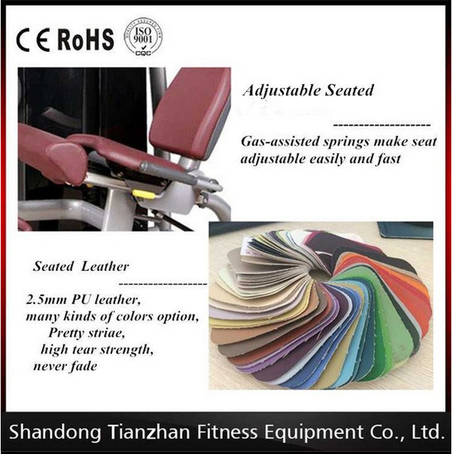 Fitness Equipment Tz-6008 Lat Pulldown / Sport Equipment Ce Approved Fitness Equipment