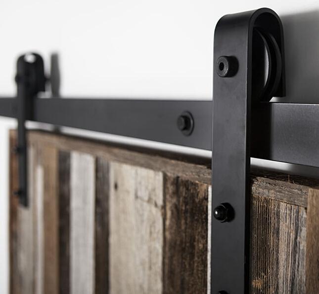 erias home designs bent strap sliding barn door hardware - Erias Home Designs