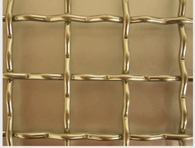 China crimped wire mesh stainless steel