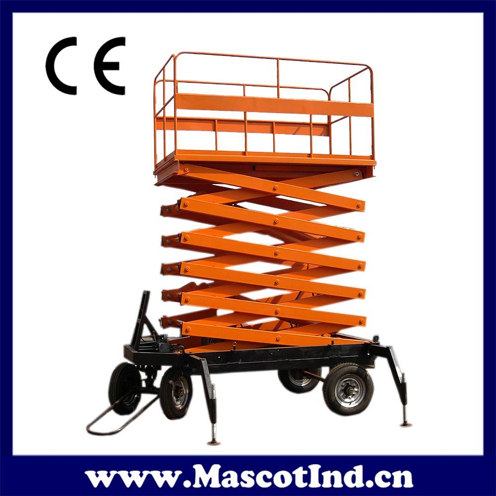 Mobile Hydraulic Lifts : China mobile hydraulic lift scissor lifting
