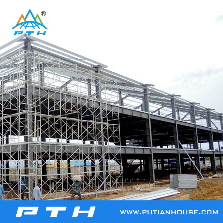ISO 9001 Certificated Steel Structure for Hotel Project in Gabon