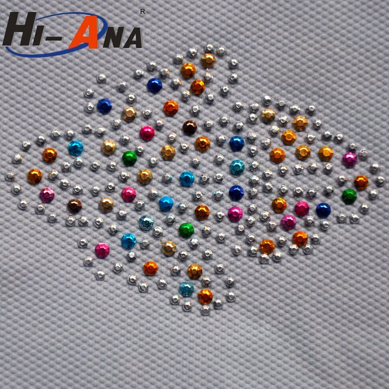 20 QC Staffs Ensure The Quality Good Pric Rhinestone Motif