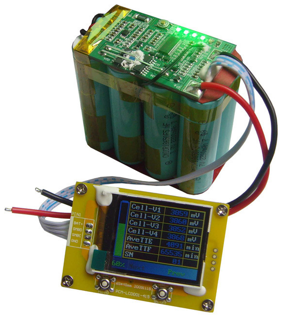 4s 14.8V 5200mAh Li-ion Battery Pack 18650 with Smart Battery System