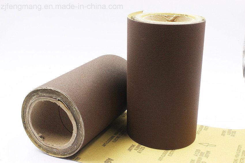 Metal Grinding Calcined Aluminum Oxide Abrasive Cloth J871K