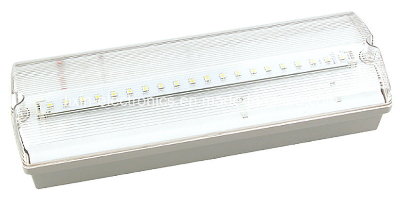 Ni-CD Battery Operated UL T5 Fluorescent Tube Bulkhead Emergency Light