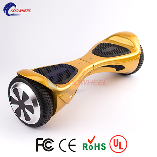 8 Inch Electric Free Hands Scooter E-Scooter with Bluetooth Speaker