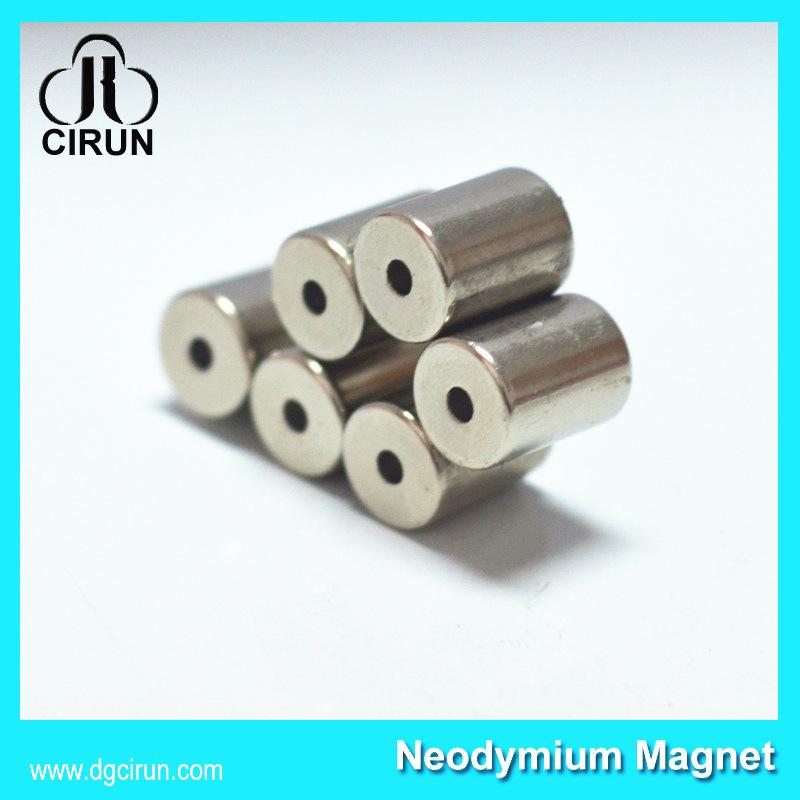 Radially Magnetized Sintered Neodymium Ring Magnets