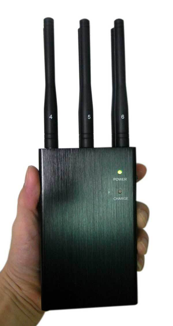 6 Antennas Portable Mobile Phone Signal Isolator/Jammer/Blocker/Breaker
