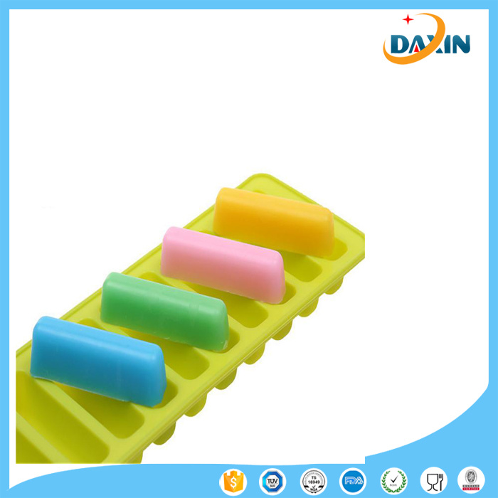 Strip Shapes Thumb Biscuits Mold Silicone Sugarcraft Chocolate Cake Soap Candle