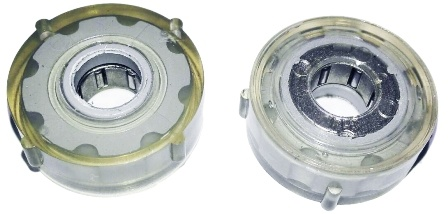 The Middle Hole Design of Large Torque Rotary Damper