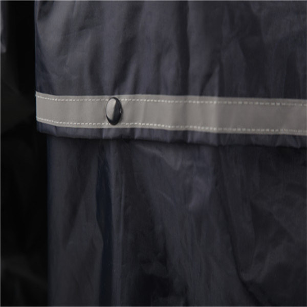 Durable Coating Raincoat with Hood