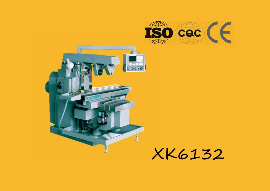 Xk6132 Knee Type CNC Milling Machine
