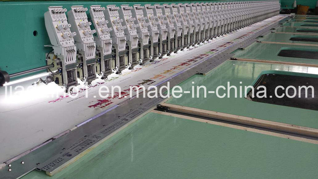 460 Needle Flat Embroidery Machine with Cutter