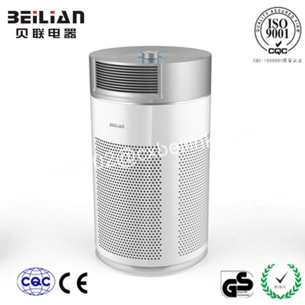 Cylinder Shaped Air Purifier with Mechanical Rotary Knob for USA