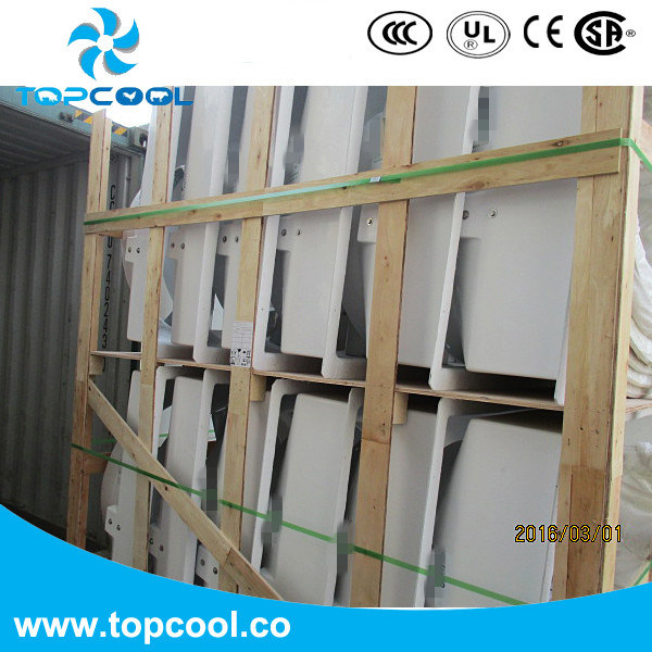 "Fiberglass Cooling Ventilation System Exhaust Fan Gfrp 14"""