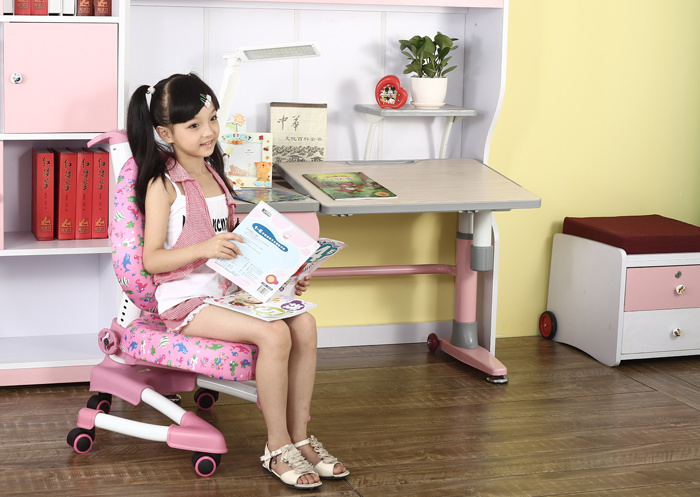 Fashionable Protective Safety Metal Swivel Kid Chair Adjustable Chair