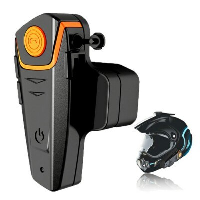 Waterproof Bluetooth 3.0+EDR Waterproof 1000m Handfree Wireless Helmet Headset Bt809 Motorcycle Helmet Bluetooth Headset Intercom with FM