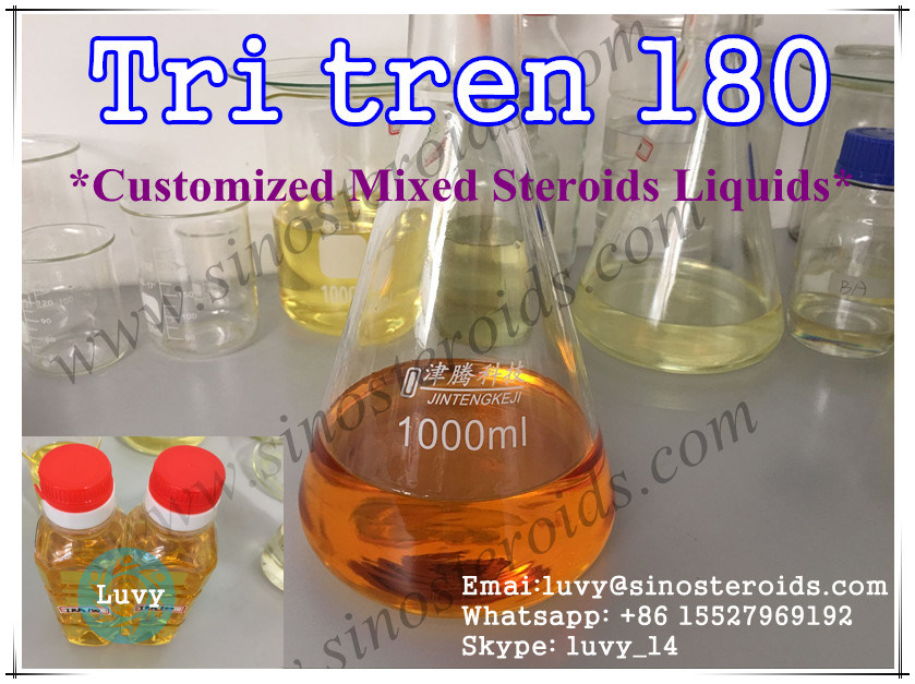 Injectable Mixed Steroids Tri Tren 180 for Fast Muscle Growth Tritren 180