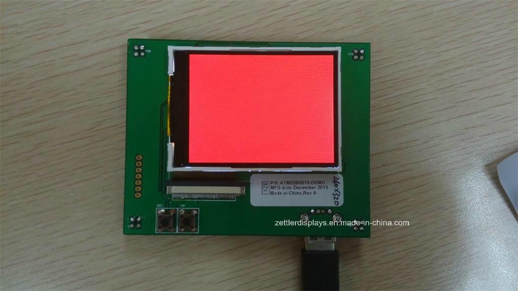 "2.8"" Qvga TFT LCD Module ATM0280b44b"