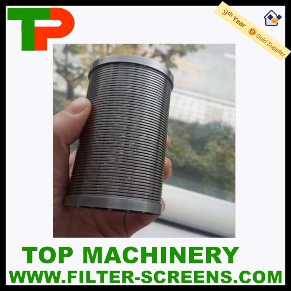 Wedge Wire Industrial Filter Screen